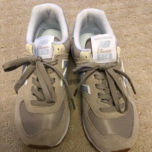 New balance sneakers- Size 7